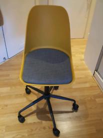 John Lewis Whistler Office Chair in Mustard