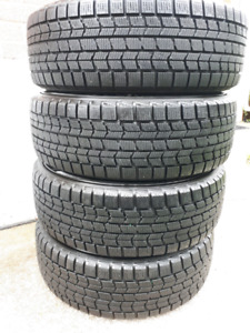 Dunlop Winter Tires with Rims 215/60R16