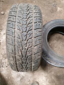 2 nexion roadian 18 inch tyres