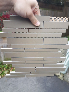 140 sq ft Olive Matt backsplash tile
