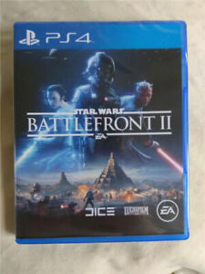 Star Wars Battlefront 2 PS4 (only played once)