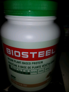 Brand new two boxes of biosteel protein powder for  $50