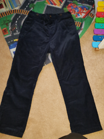 New boys cord trousers 3-4 yrs