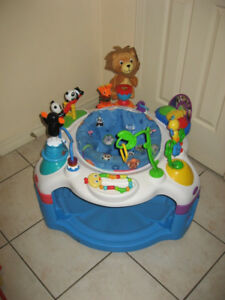 Baby Einstein Exersaucer / Graco Large Pack n Play Playpen