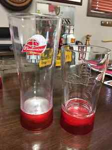 Budweiser Red Light Pitchers and Beer Glasses Set - RARE Peterborough Peterborough Area image 5