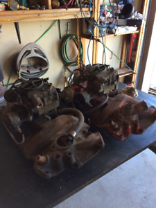 Chev 2 2bbl intakes and carbs