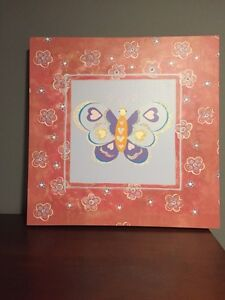 "Painting of Butterfly  20"" x 20"" Kitchener / Waterloo Kitchener Area image 1"