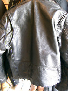 Large mens biker jacket   recycledgear.ca Kawartha Lakes Peterborough Area image 6