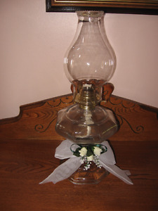 Antique Kerosene Lamp For Sale!