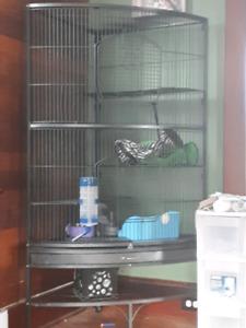 Multi tier 5 foot cage