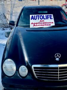 2001 Mercedes E320 4matic AWD black leather loaded Fixer upper