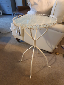 Ornate side coffee occasional table