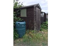 6x4 wooden shed FREE
