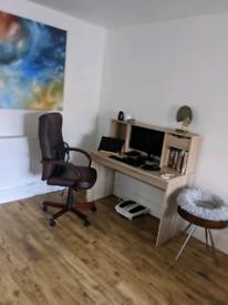 Desk, modern, light wood, free delivery