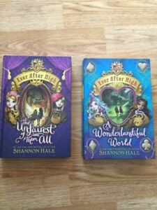 2 Ever After High Novels