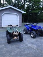 2 Yamaha Wolverine 350 4x4 ~ Package Deal ~