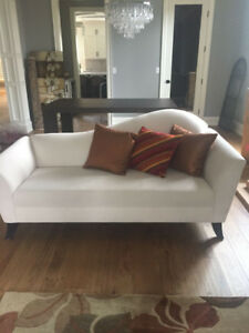 Gorgeous White Lounging Style Couch