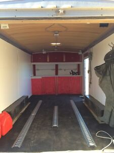 2011 cargo mate 8.5'x16' enclosed trailer