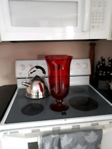 2 large candle holders / vases $15 obo