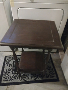 Wooden Antique Occasional Table