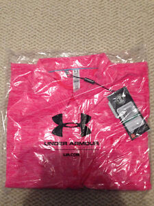 Large Under Amour Pink Golf Polo