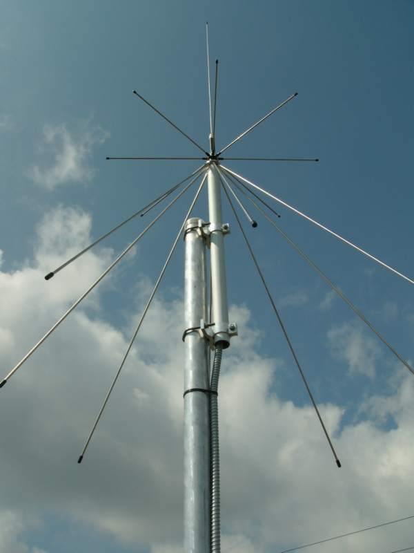 Антенна для радиолюбителя sirio sd 1300 discone antenna 25 m.