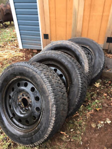 Winter Tires and Rims for F150 4X4