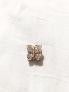 Pandora Charm: Sparkling Butterfly, Clear CZ