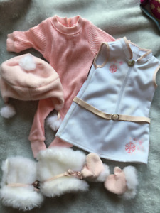 American Girl Cozy Winter Outfit