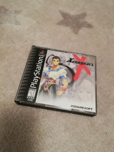 Xenogears Complete for Playstation 1 Black Label