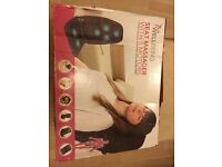 Seat massager with 5 motors