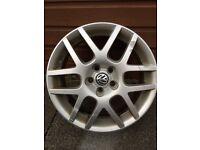 Vw golf mk4 gti alloy wheels