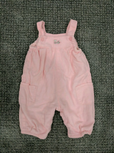 EUC 0-3m overalls from Children's Place