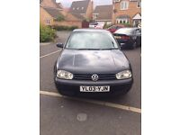 VW Golf 1.9 GT TDI 6 Speed 10 Months MOT