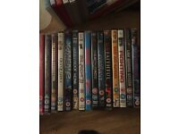 69 mixed DVDs