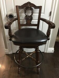 2 Ashley bar stools