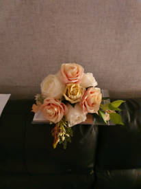 Pearl Diamante Crystal Effect Sprays wedding flowers decorations bouquet corsage
