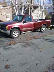 Selling a 1997 Chevy truck