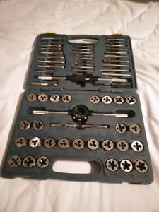 Mastercraft 60-piece tap and die set