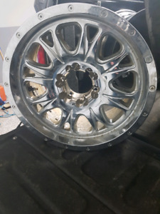 18x9 Fuel Throttle Rims.