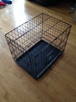 Brand new small kennel that folds up.