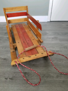 Child's/ kids sleigh