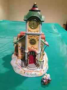"PartyLite ""The Clock Tower"" Tealight House"