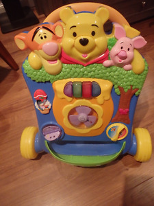 Winnie the Pooh learn to walk activity toy
