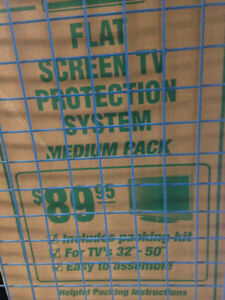TV Shipping Box -