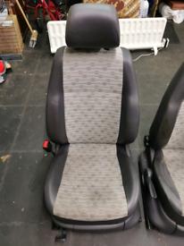 Volkswagen caddy van front seats