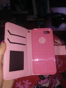 2 pink Iphone 5/5S/SE case