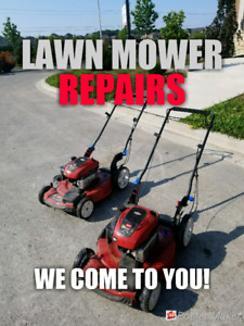 Lawn Mower Repairs * HOUSE CALLS * Lawnmower mover