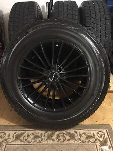 Blizzack Tires P235/65R17 on Alloy rims (5x120)