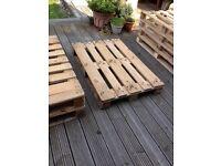 Europallets and standard pallets £5 each